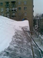 Очистка кровли от снега «на 1,5м от края» - почему именно на 1,5м?